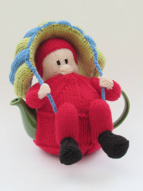 Parachutist Tea Cosy Knitting Pattern at Makerist