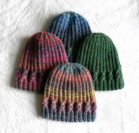 Simple Cable Beanie at Makerist