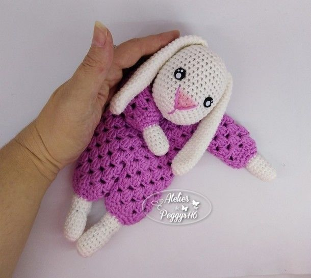 Doudou lapin granny chez Makerist - Image 1