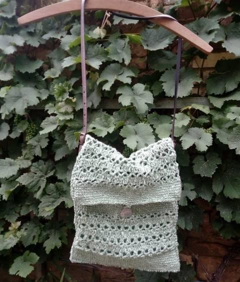 Tunesische Netz-Tasche bei Makerist
