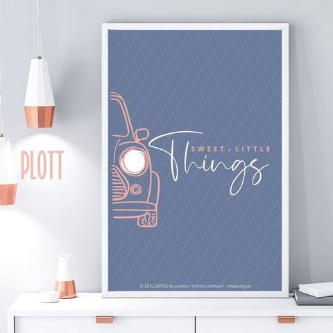 Plotterdatei || little things - Auto