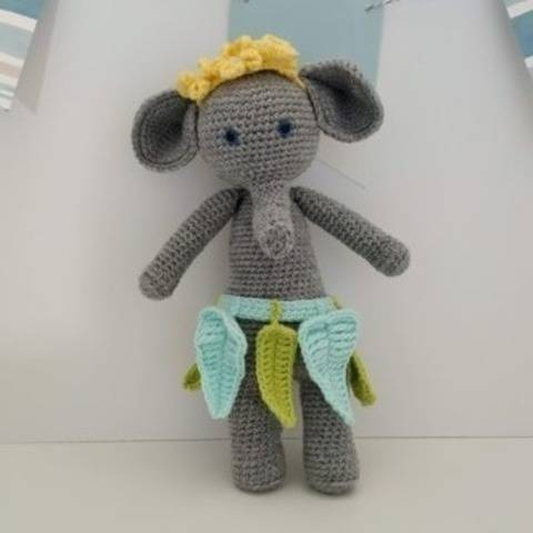 Amigurumi – Constant the Elephant - crochet – tutorial
