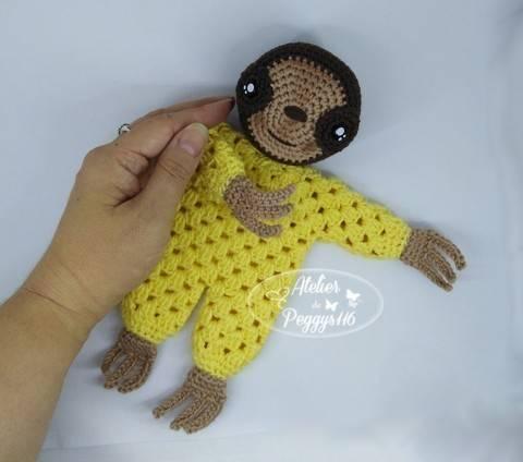 Sloth lovey granny at Makerist