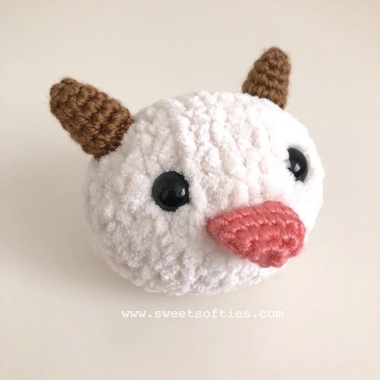 Poro League of Legends (LoL) Plushie at Makerist - Image 1