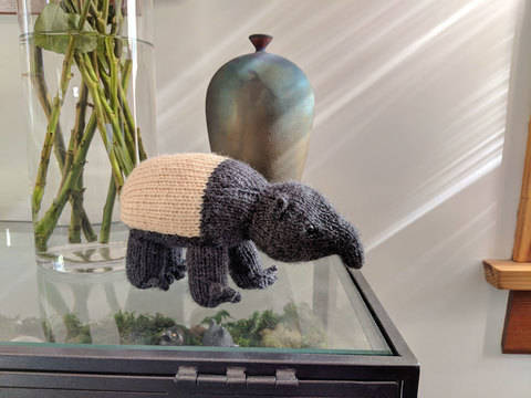 Heywood the Tapir at Makerist