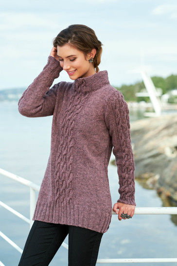 Aki Pullover Sizes XS-2XL PDF Knitting Pattern at Makerist - Image 1