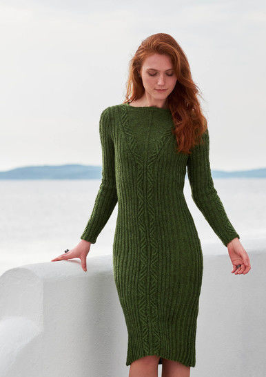 Sigyn Dress Sizes XS-2XL PDF Knitting Pattern at Makerist - Image 1