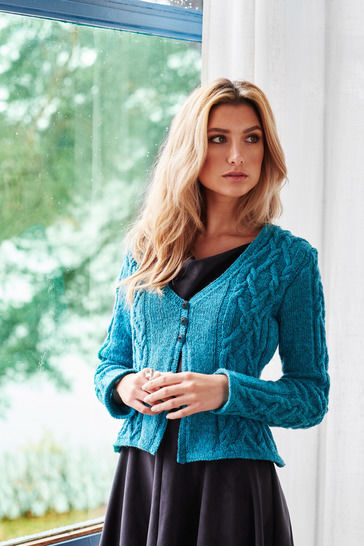 Gyda Jacket Sizes XS-2XL PDF Knitting Pattern at Makerist - Image 1