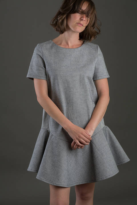 Jeanette dress size 32 to 46 at Makerist