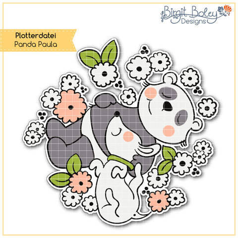 Birgit Boley Designs • Panda Paula bei Makerist