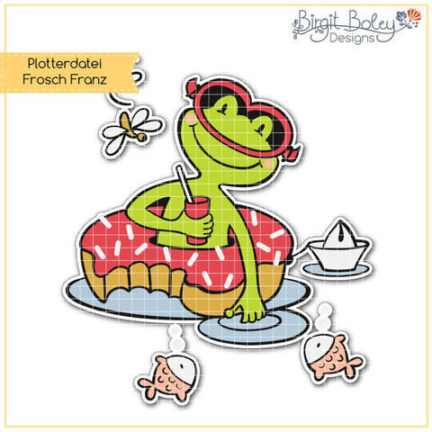 Birgit Boley Designs • Frosch Franz bei Makerist