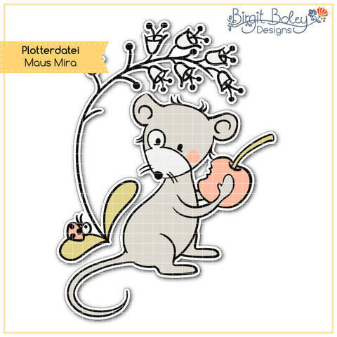 Birgit Boley Designs • Maus Mira bei Makerist