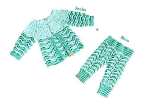 "2 PDFs Spar-Set : Jacke & Hose ""Seaside"","