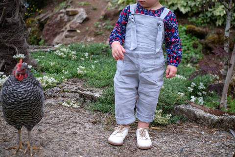 Tie Strap Dungarees / Overalls at Makerist