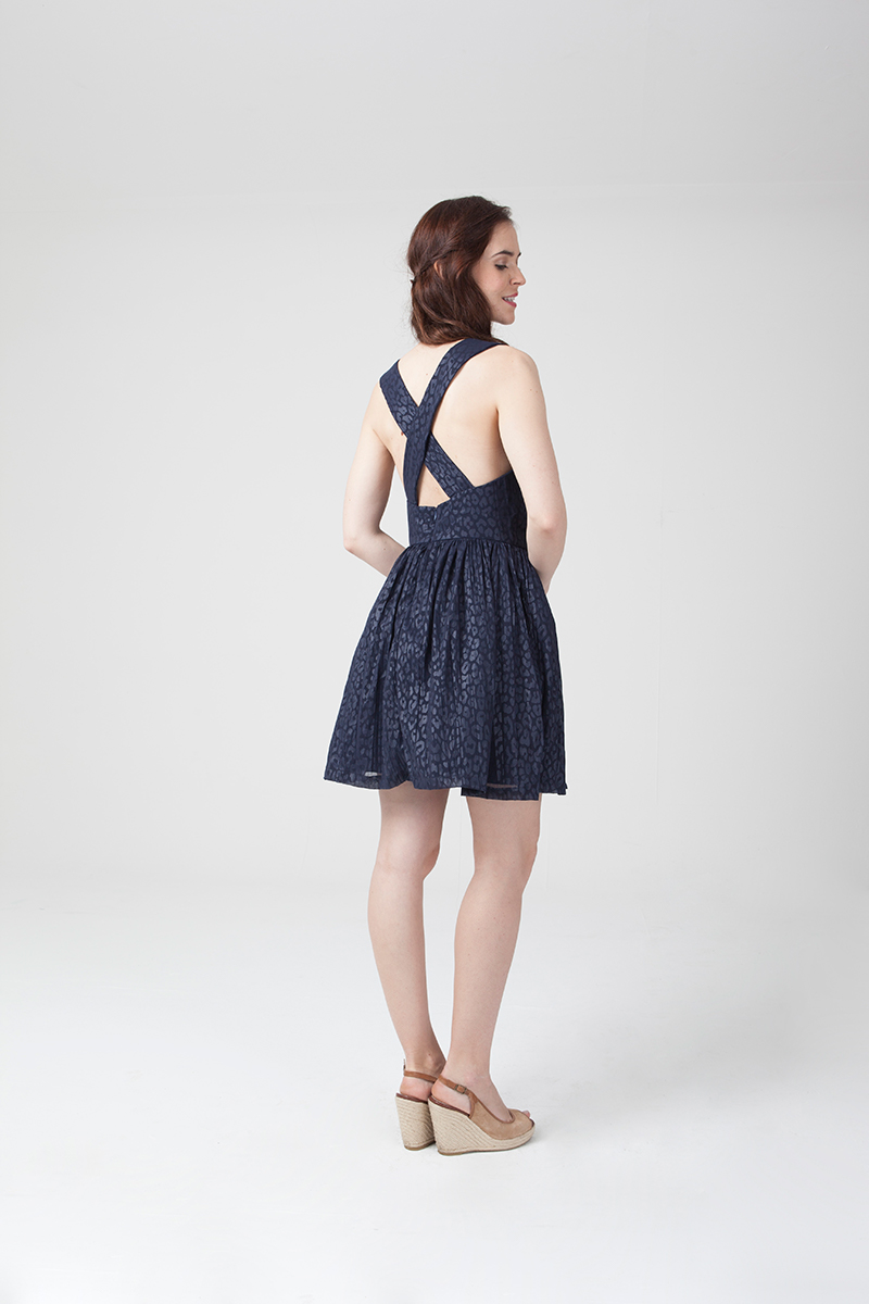 Amandine - dress - US/UK : 2/6 - 14/18 - intermediate