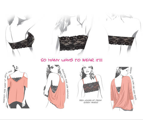 Lace Bandeau - Sewing Pattern and Sewing Guide  at Makerist