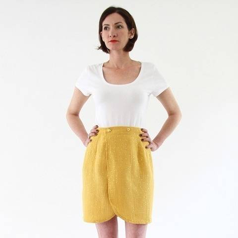 Malo - Easy Wrap Skirt at Makerist