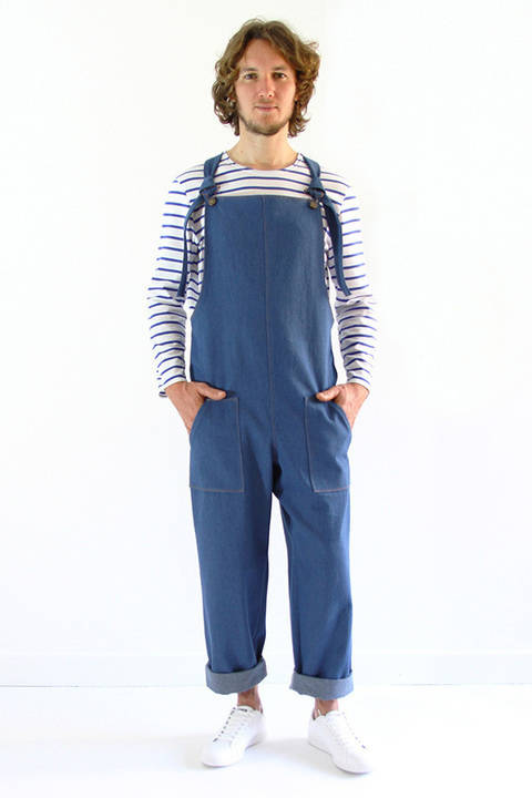 Colibri for Men - Dungarees at Makerist