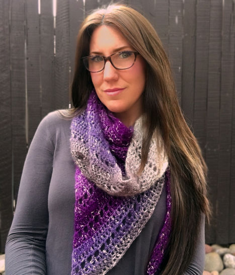 Amethyst Shawl Scarf at Makerist - Image 1