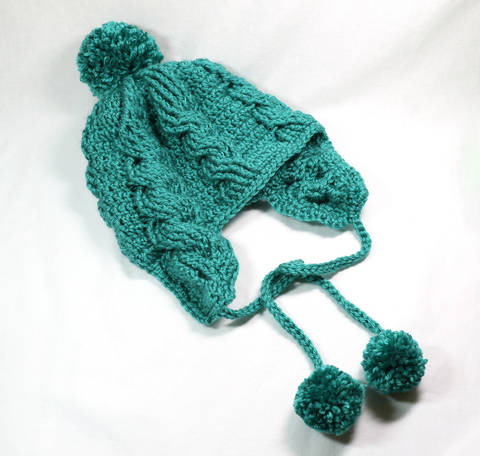 Aspen Cabled Beanie at Makerist