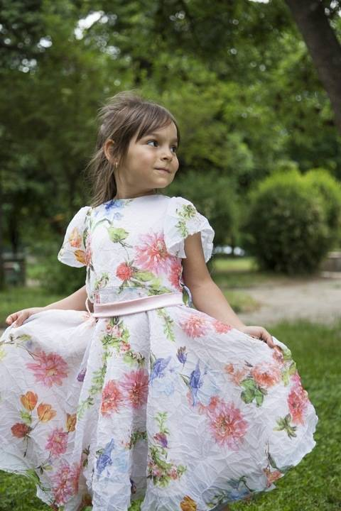 Little Girls Summer Sunshine Dress Pattern sizes age 2-10