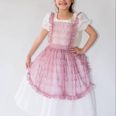 Accessoires 2 robe Princesse : tablier, jupons - Patron chez Makerist