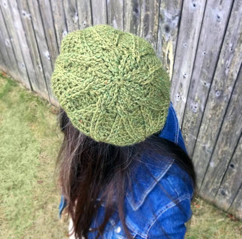 Bixby Cabled Beret