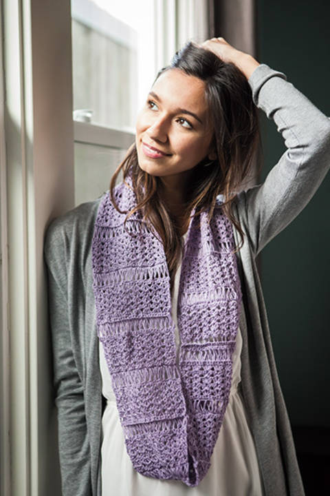 Blossom and Broomsticks Infinity Scarf at Makerist