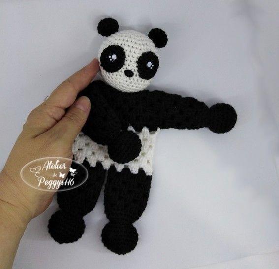 Doudou Panda granny chez Makerist - Image 1