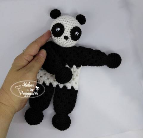Doudou Panda granny chez Makerist