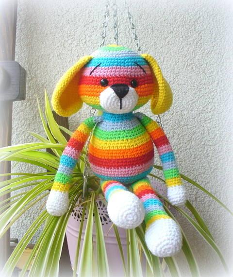 Rainbow Puppy in Englisch bei Makerist