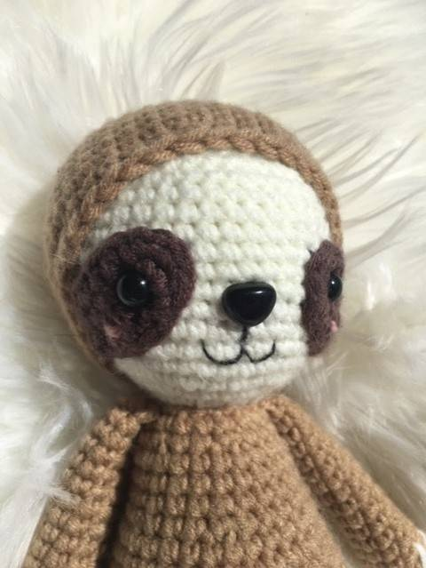 Raoul the sloth Capu'Choux at Makerist