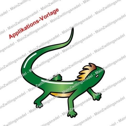 Main kleiner Gecko - Applikationsvorlage bei Makerist