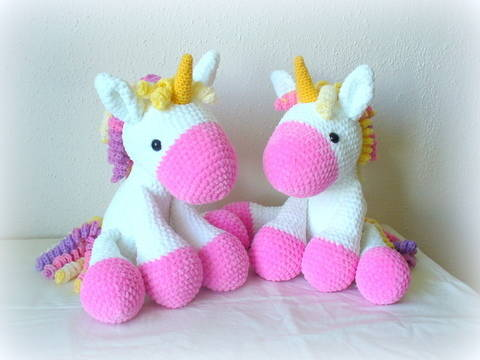 Crochet Charming Unicorn at Makerist