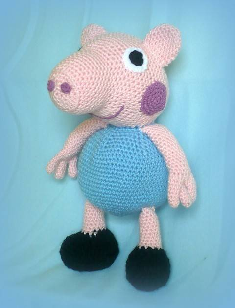 Crochet George Pig at Makerist