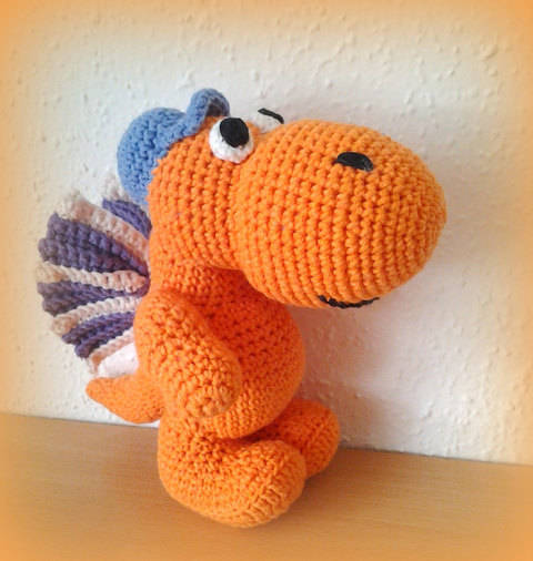 Crochet Coconut the Little Dragon at Makerist