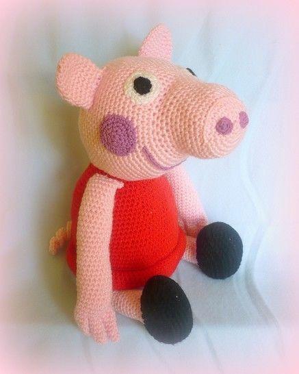 Peppa Pig Family Pattern amigurumi | Peppa pig family, Pig family ... | 546x437
