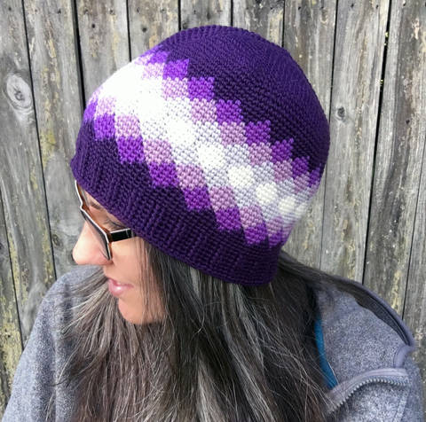 Diamonds Beanie at Makerist