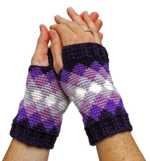Diamonds Mitts at Makerist - Image 1