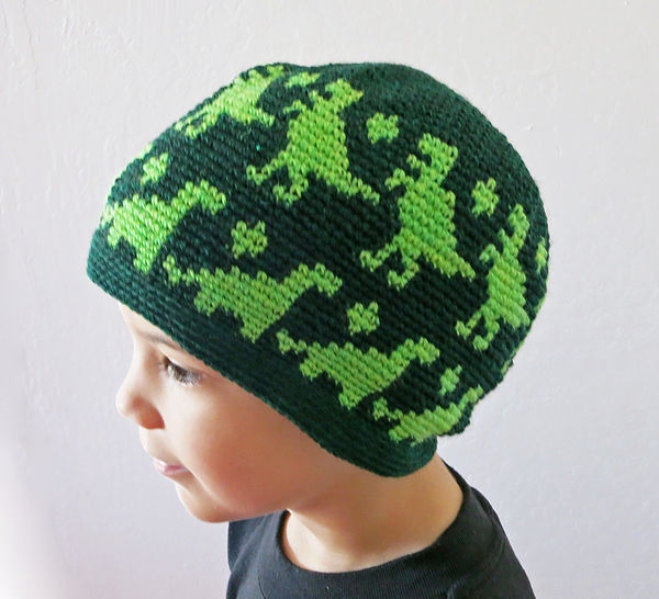 Dino Beanie at Makerist - Image 1