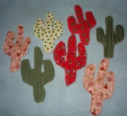Cookie-Cutter Quilted Cactus Bunting