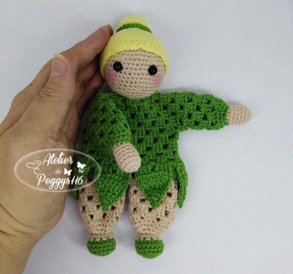 Doudou Fée clochette Granny  chez Makerist - Image 1