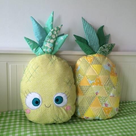 Ebook Ananas Quilt Kissen bei Makerist