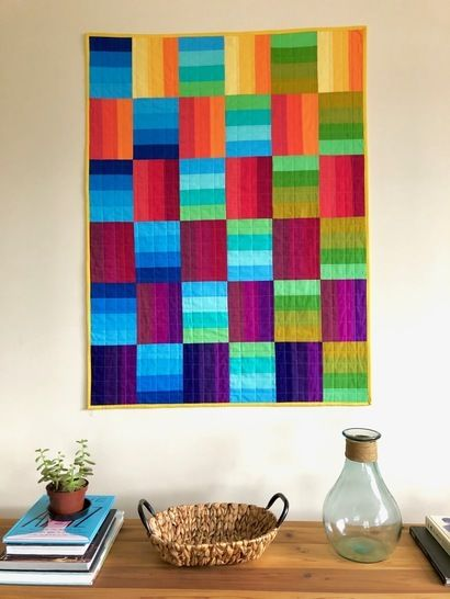 """Quilt Pattern """"BEFORE SUNSET"""" (Baby and Throw size) at Makerist - Image 1"""