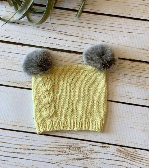 Little Prairie Baby/Child Knitted Hat