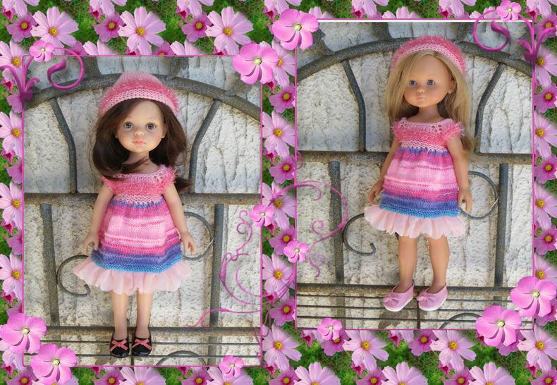 Fiche patron tricot LC52 Poupée Les Chéries Paola Reina chez Makerist - Image 1