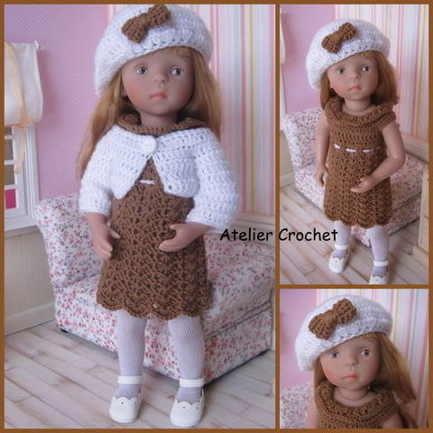 """Milk chocolate"" crochet pattern for Minouche  at Makerist"