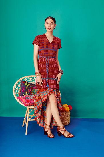 Kleid mit Jacquardmustern bei Makerist - Bild 1