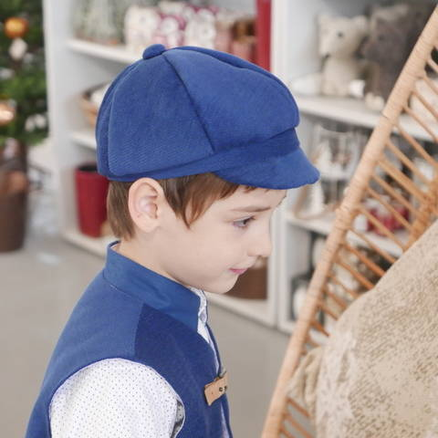 Newsboy cap and bow tie PDF patterns