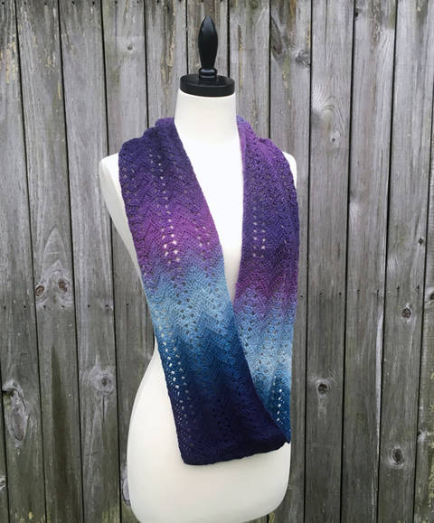 Fall Infinity Scarf at Makerist
